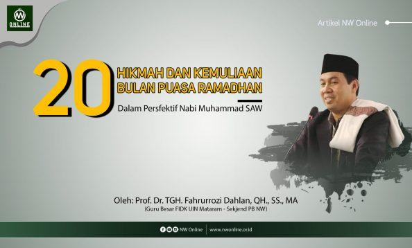 20 Hikmah & Kemuliaan Ramadhan